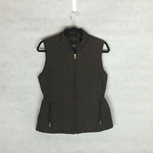 Relativity Chocolate Brown Vest, Quilt Pattern